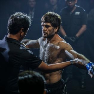 Atsushi Onari, Marat Gafurov (© ONE Championship)