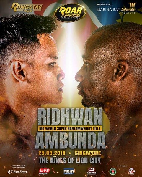 Muhamad Ridhwan, Paulus Ambunda