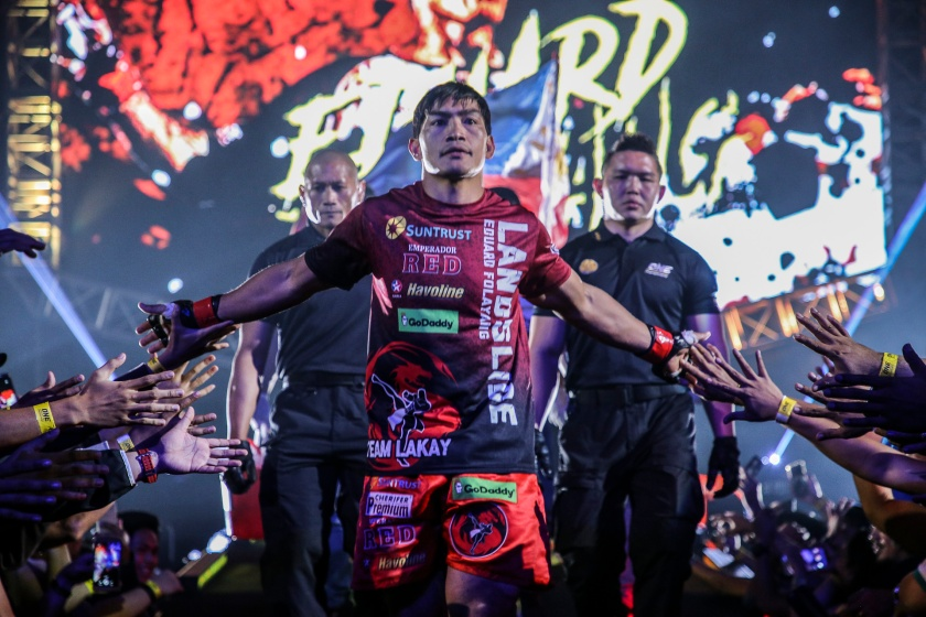 Eduard Folayang (© ONE Championship)