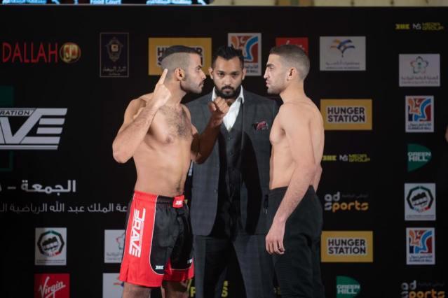 Abdullah Al-Qahtani, Mohammed Shahid, Islam Reda