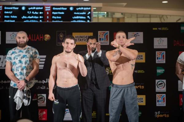 Marat Magomedov, Mohammed Shahid, Jeremy Kennedy