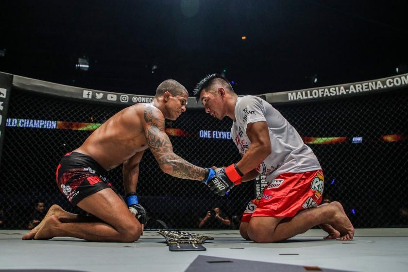 Adriano Moraes, Geje Eustaquio (© ONE Championship)