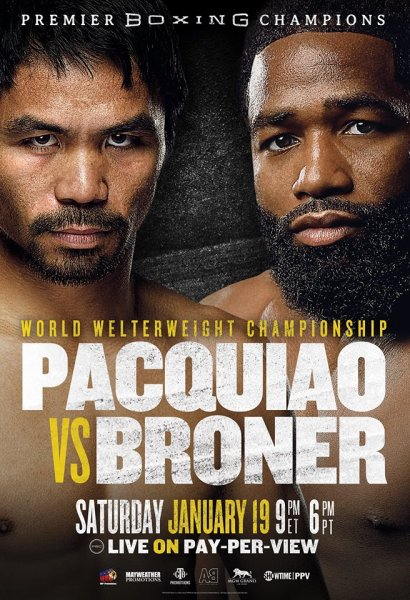 Manny Pacquiao, Adrien Broner