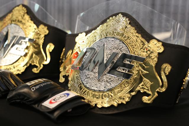 ONE Championship belts
