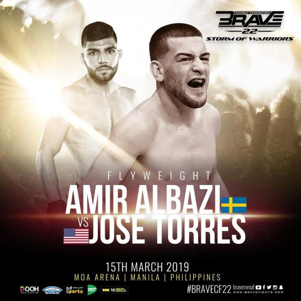 Amir Albazi, Jose Torres