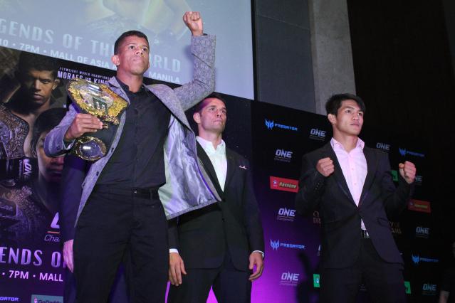 Adriano Moraes, Rich Franklin, Danny Kingad