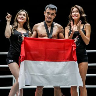 Rudy Agustian (© ONE Championship)