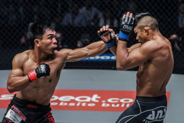 Kevin Belingon, Bibiano Fernandes (© ONE Championship)