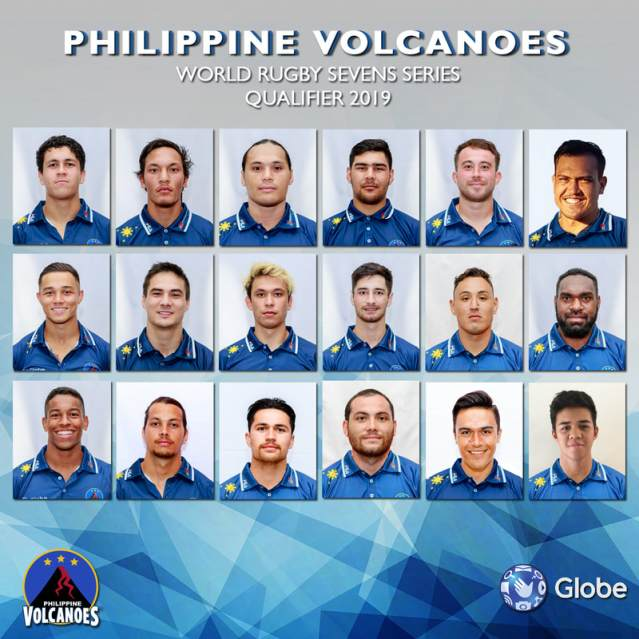 Philippine Volcanoes National Men's Sevens Rugby Team