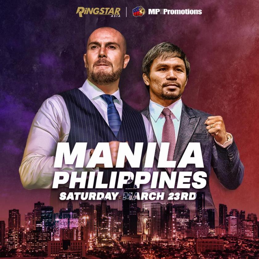Scott Farrell, Manny Pacquiao