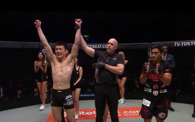 Shinya Aoki, Olivier Coste, Eduard Folayang