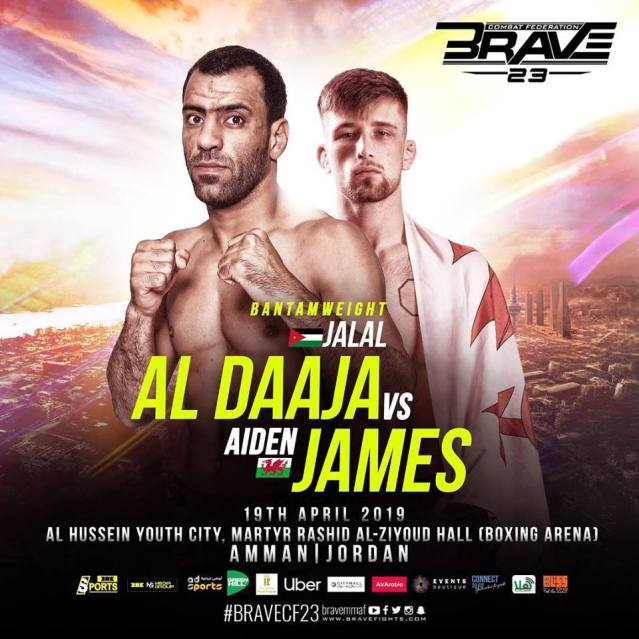 Jalal Al Daaja, Aidan James