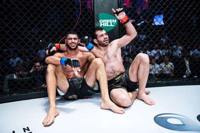 Mounir Lazzez, Eldar Eldarov (© Brave Combat Federation)