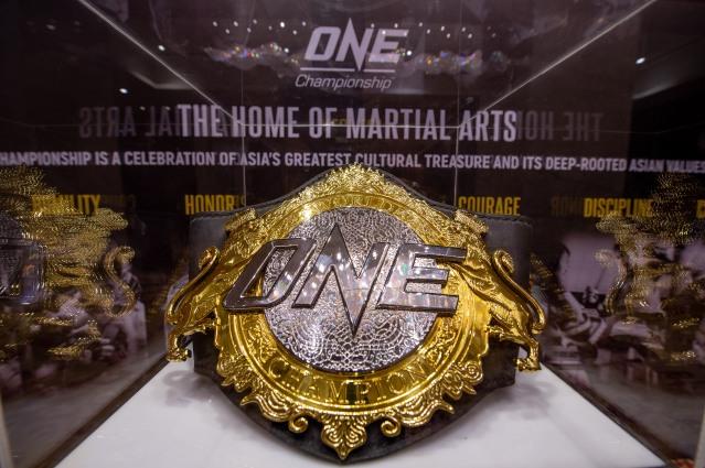 ONE Championship belt (© ONE Championship)