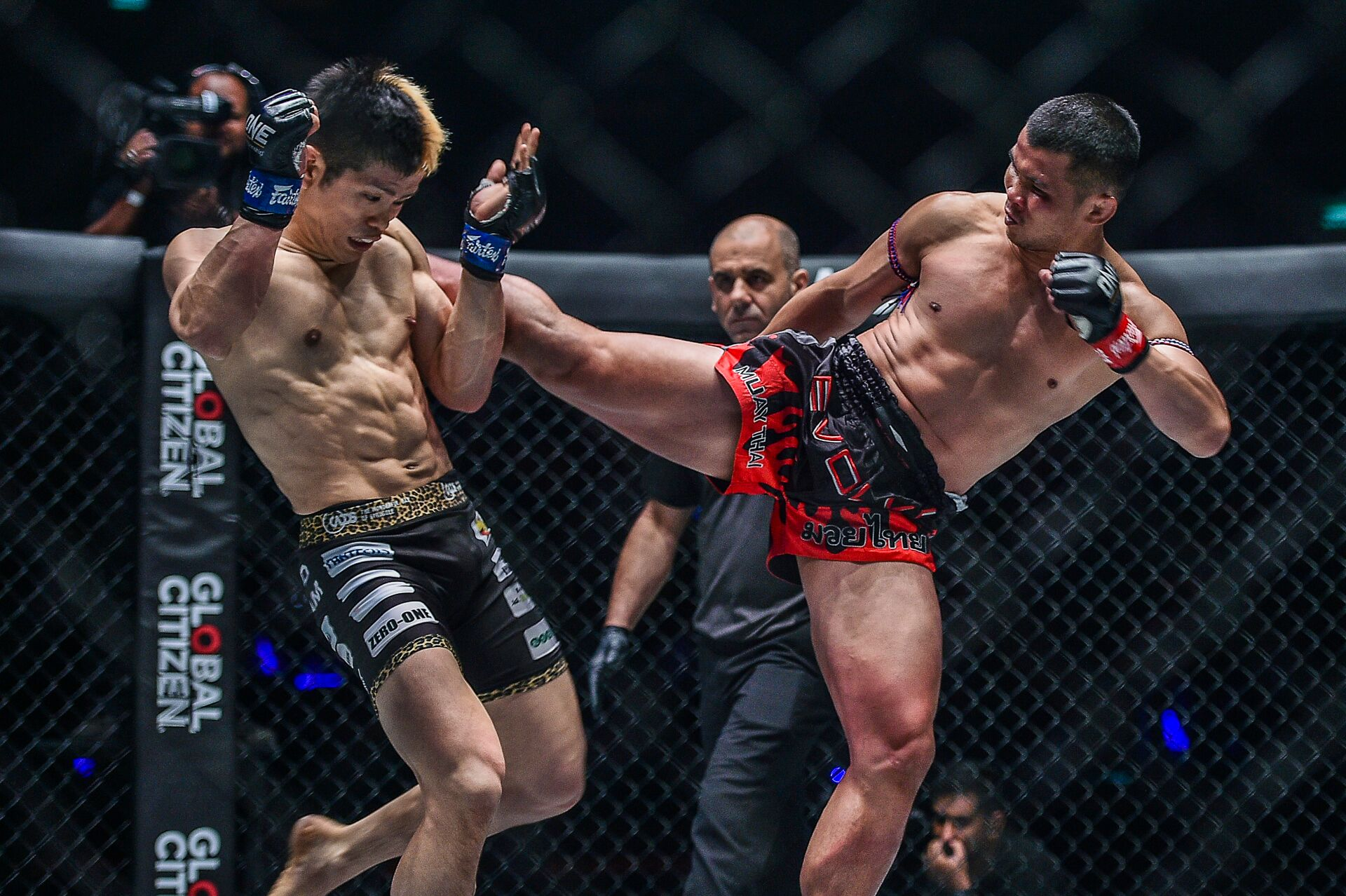Global Asia News							[PHOTOS] Thailand vs Japan: Nong-o Gaiyanghadao, Hiroaki Suzuki fight at 'ONE: Warriors of Light' in ThailandPost navigation