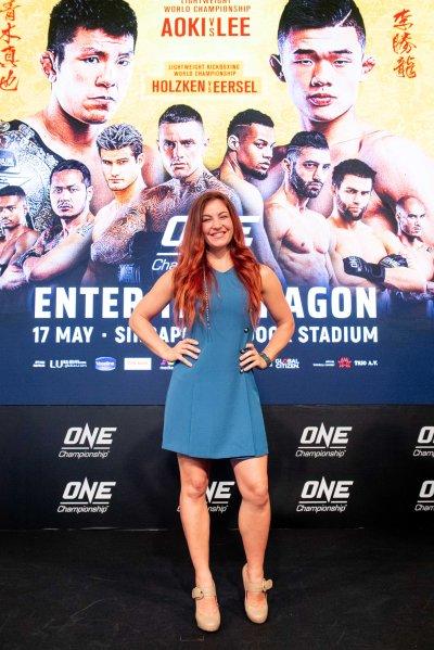 Miesha Tate (©ONE Championship)
