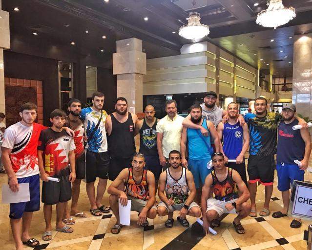 Team Bahrain at Asian MMA Games