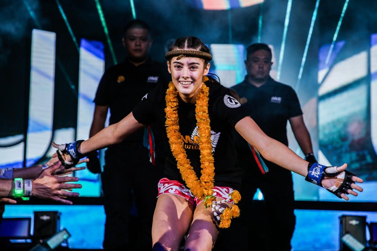 Alma Juniku (© ONE Championship)