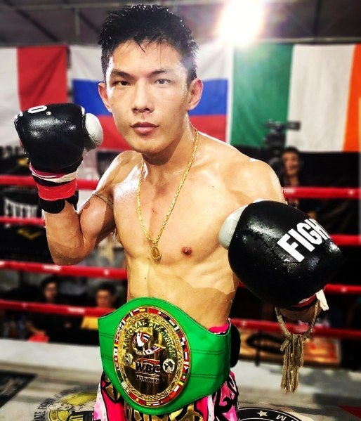 Brandon Ng  (©Singapore Fighting Championship)
