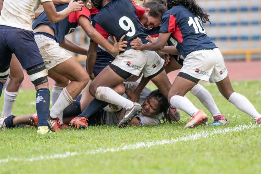Philippine Lady Volcanoes (© Asia Rugby, Singapore Rugby)