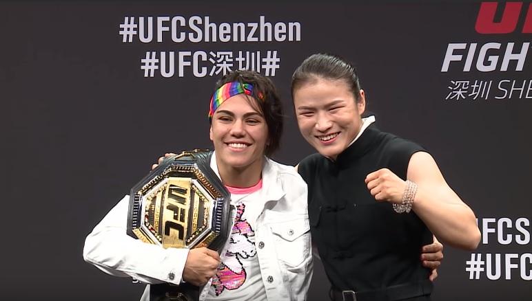 Jessica Andrade, Weili Zhang