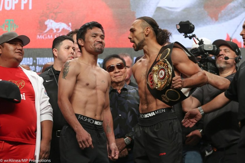Manny Pacquiao, Keith Thurman