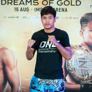 Muangthai PK.Saenchaimuaythaigym (© ONE Championship)