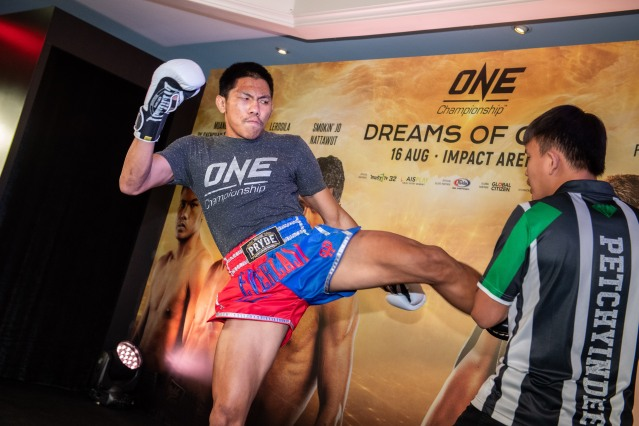Petchdam Petchyindee Academy (© ONE Championship)