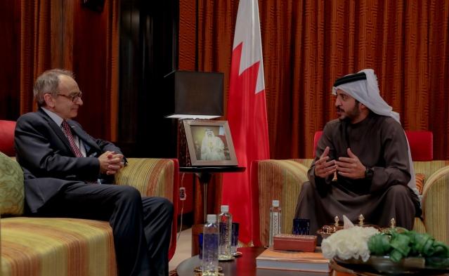 Simon Martin, Khaled bin Hamad Al Khalifa (©Brave Combat Federation)