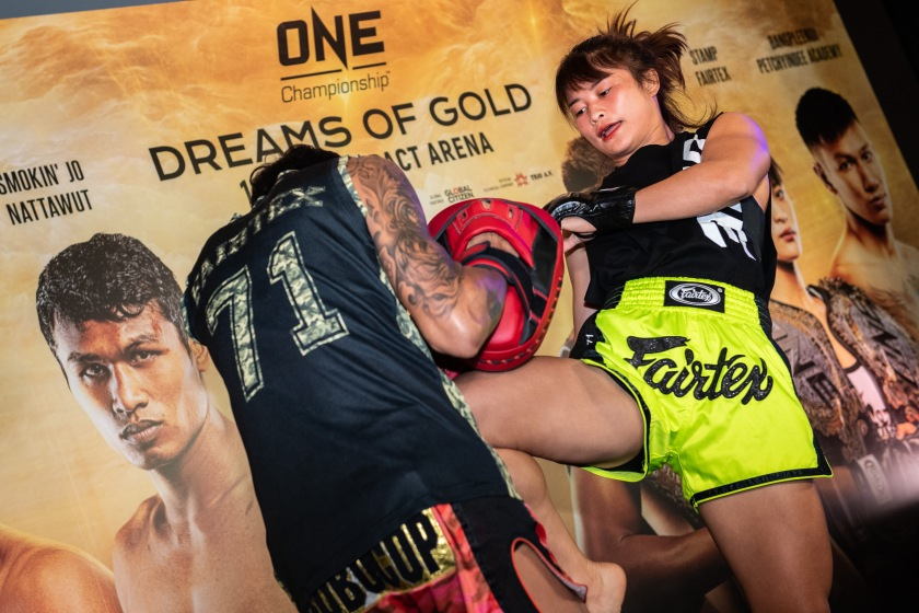 Stamp Fairtex (© ONE Championship)