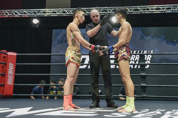 Bryan Tee, Olivier Coste, Lehe (©ONE Championship)