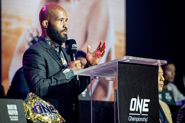 Demetrious Johnson (©ONE Championship)