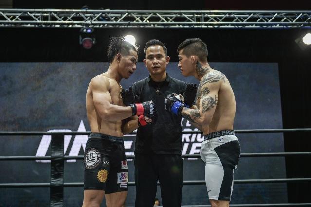 Detchadin Sornsirisuphathin, Isaac Yap, Da Woon Jung  (©ONE Championship)