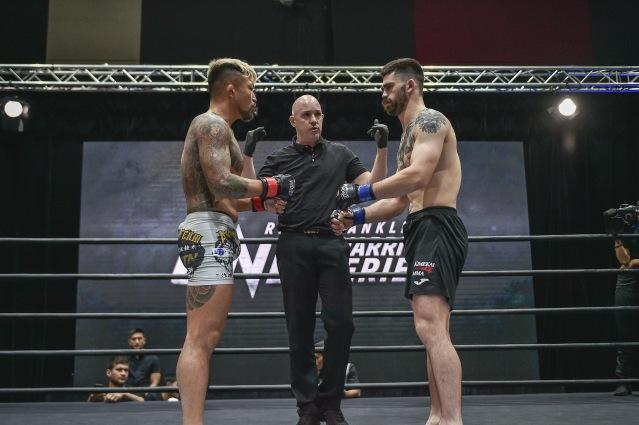 Koji Shikuwa, Olivier Coste, Joseph Luciano (©ONE Championship)