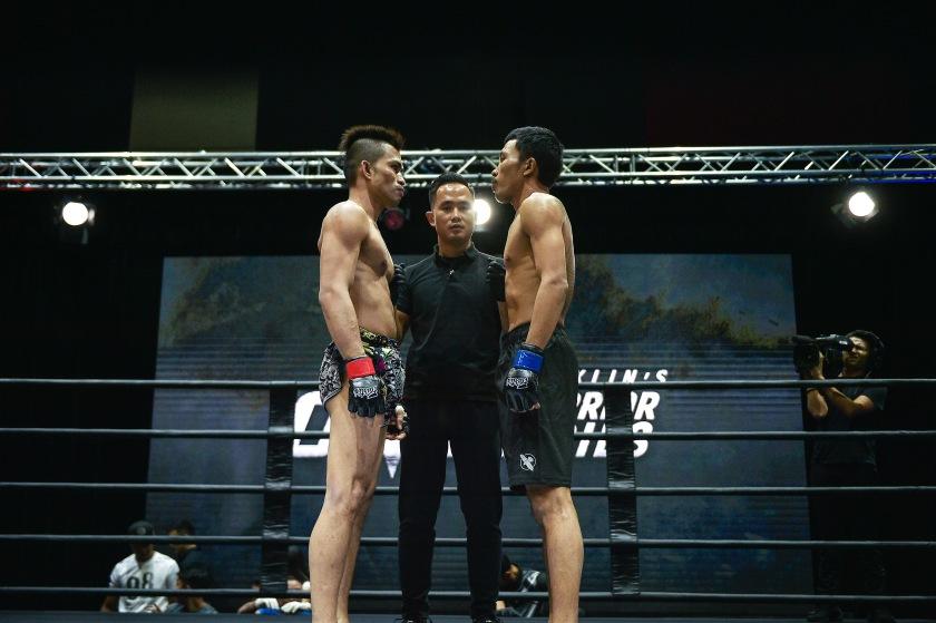 Matt Korro, Isaac Yap, Sai Nyan Lin (©ONE Championship)