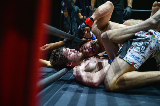 Michael Walker, Akuri Ronda (©ONE Championship)