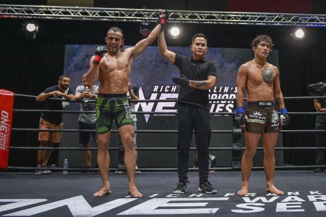 Ali Motamed, Isaac Yap, Zechariah Lange (©ONE Championship)