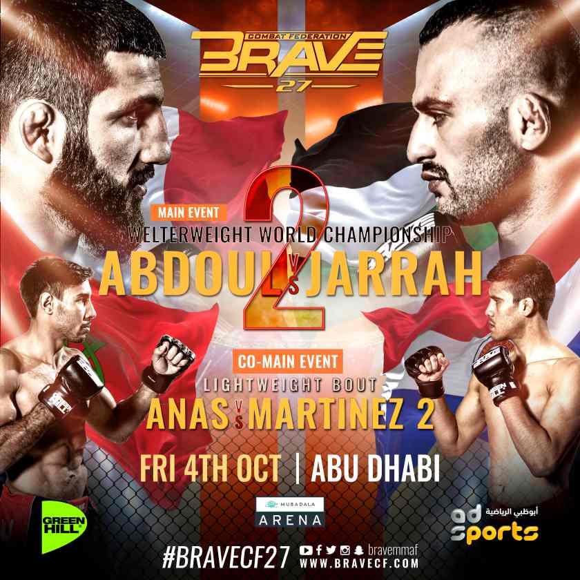 'Brave 27' poster