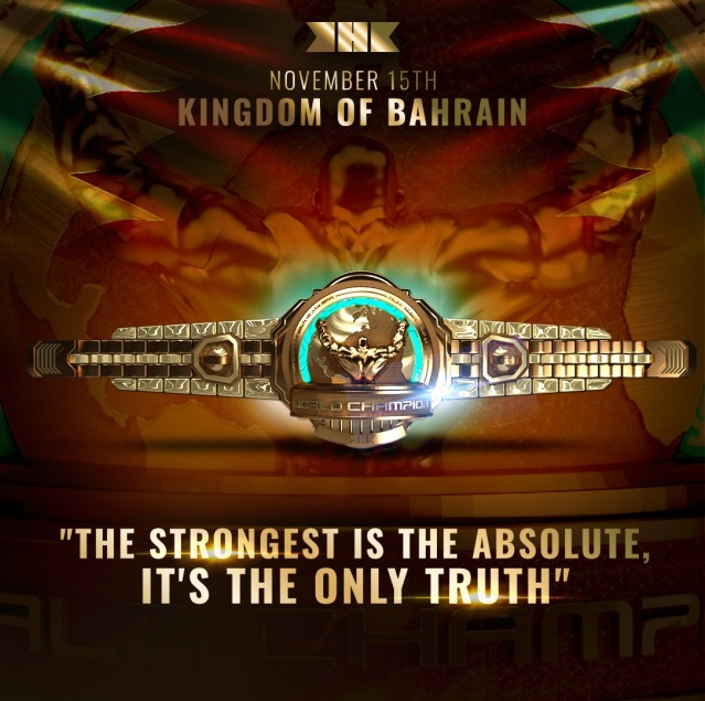 KHK World Championship belt