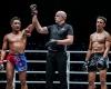 Mongkolpetch Petchyindee Academy, Olivier Coste, Joseph Lasiri (©ONE Championship)