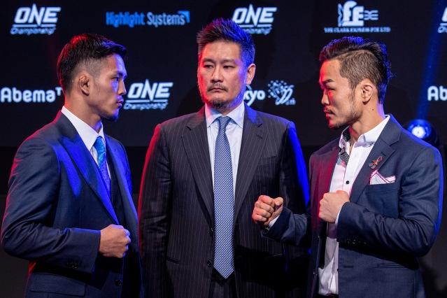 Yuya Wakamatsu, Chatri Sityodtong, Dae Hwan Kim (©ONE Championship)
