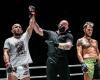 Abu Muslim Alikhanov, Nick Chapman, Pascal Jaskiewiez (©ONE Championship)