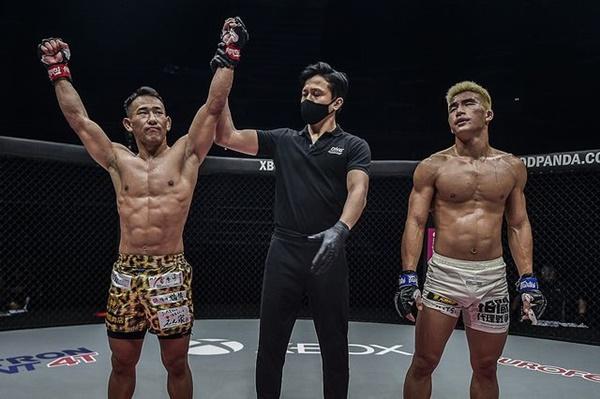 Ryogo Takahashi, Mohamed Sulaiman, Yoon Chang Min (©ONE Championship)