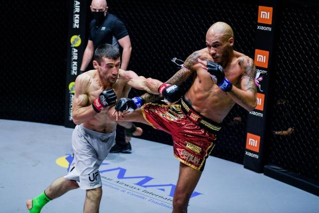 Jamal Yusupov, Samy Sana (©ONE Championship)