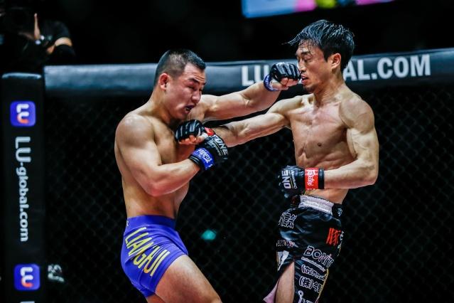 Hui Liang, Senzo Ikeda (©ONE Championship)
