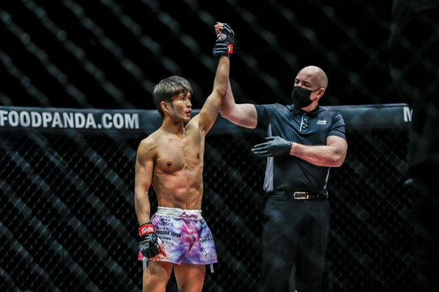 Kohei Kodera, Olivier Coste (©ONE Championship)